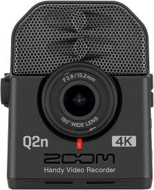 ZOOM Q2n-4K 【送料無料】ズーム ミュージシャンのための4Kカメラ Handy Video Recorder ハンディビデオレコーダー【smtb-TK】【ポイント2倍】