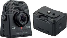 ZOOM Q2n-4K(外部バッテリーケース/BCQ-2n付) 【送料無料】ズーム ミュージシャンのための4Kカメラ Handy Video Recorder ハンディビデオレコーダー【smtb-TK】【ポイント5倍】