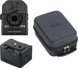 ZOOM Q2n-4K(外部バッテリーケース/BCQ-2n+汎用型ソフトシェルケース/SCU-20付)【送料無料】ズーム ミュージシャンのための4Kカメラ Handy Video Recorder ハンディビデオレコーダー【smtb-TK】