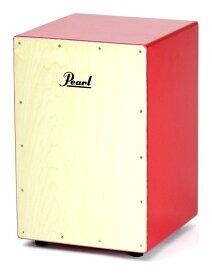 Pearl PCJ-CVJ/SC #R レッド スモールサイズ ボックス・カホン ジュニア/ソフトケース付【送料無料】【smtb-TK】【ポイント2倍】