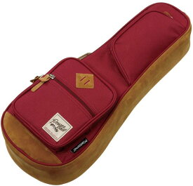 アイバニーズ Ibanez IUBS541-WR(Wine Red) ソプラノウクレレギグバッグ【送料無料】【smtb-TK】【ポイント2倍】
