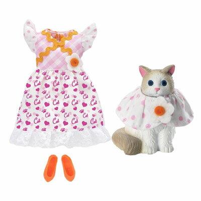 リカちゃん ペットとおそろいドレスセット2 ネコちゃんとおそろい
