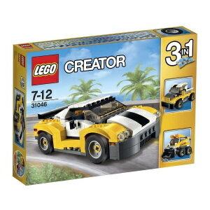 レゴクリエイター 31046 スポーツカー イエロー LEGO レゴブロック 女の子プレゼント 男の子プレゼント 誕生日プレゼント