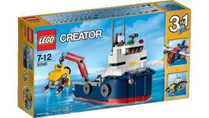 レゴクリエイター 31045 海洋調査船 LEGO レゴブロック 女の子プレゼント 男の子プレゼント 誕生日プレゼント