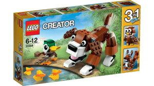レゴクリエイター 31044 公園の動物たち LEGO レゴブロック 女の子プレゼント 男の子プレゼント 誕生日プレゼント