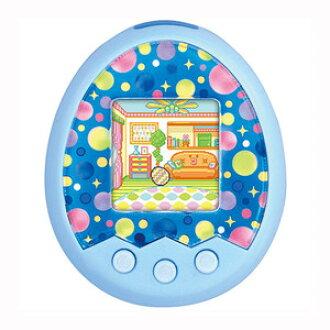 电子鸡 m ! x 旋律米 ! x ver...蓝色 (鸡蛋是池谧傻笑) tamagotch 混合发展虚拟宠物玩具女孩礼物生日礼物万代
