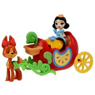 dizunipurinsesuritorukingudamuraburi馬車白雪公主公主多爾玩偶女人的孩子禮物生日禮物TAKARA TOMY