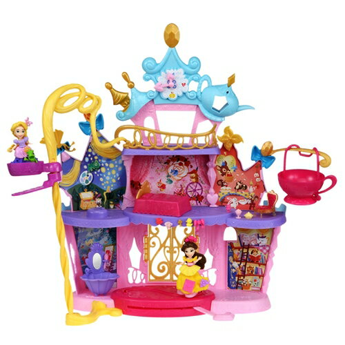 ディズニー プリンセス リトルキングダム エレベーターのある大きなダンスキャッスル 誕生日 プレゼント 女の子 プレゼント タカラトミー