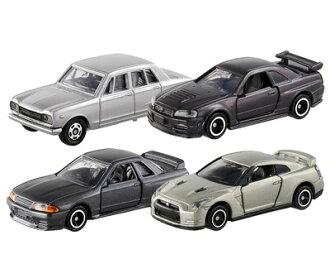Tomica Tomica 礼物集的荣耀 gt-r 集的 Tomica 汽车玩具车玩具男孩生日礼品 Tomy(takaratomy)