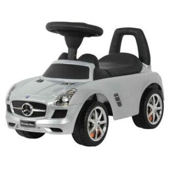 Toyland Clover Foot Kick Penger Use Toy Mercedes Benz Sls Amg Silver Riding Car Boy Present Birthday Rakuten Global
