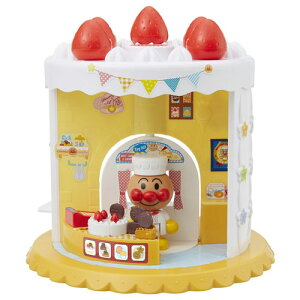 【送料無料】アンパンマンタウン ようこそ!わくわく!アンパンマンスイーツショップ 知育玩具 女の子プレゼント 男の子プレゼント クリスマス プレゼント バンダイ