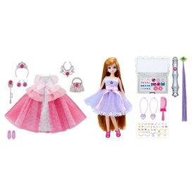 【送料無料】リカちゃん ドール ジュエルアップ かれんちゃん デラックス 女の子 プレゼント 誕生日 プレゼント きせかえ 人形 着せ替えセット クリスマス プレゼント タカラトミー