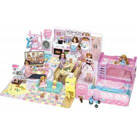 【数量限定特価】【送料無料】リカちゃん チャイムでピンポーン かぞくでゆったりさん おしゃれ遊び ハウスグッズ 女の子プレゼント 誕生日プレゼント きせかえ 人形 ドール クリスマスプレゼント タカラトミー