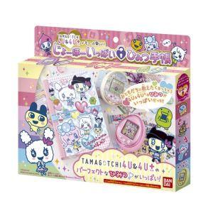 TAMAGOTCHI 4U 4U&4U+がもーっと楽しい! じょーほーいっぱい ひみつ手帳 (たまごっち 4U プラス) タマゴッチフォーユープラス 育成 バーチャルペット玩具 女の子プレゼント 誕生日プレゼント バンダイ