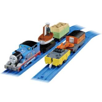 令人兴奋的寻宝 plarail 泥托马斯-船水手约翰-托马斯火车头托马斯火车玩具男孩礼物生日礼物火车玩具 Tomy(takaratomy)
