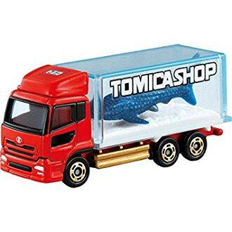 Tomica 日產柴油關先生水族館軌道 Tomica 車玩具車玩具男孩生日禮品 Tomy(takaratomy)