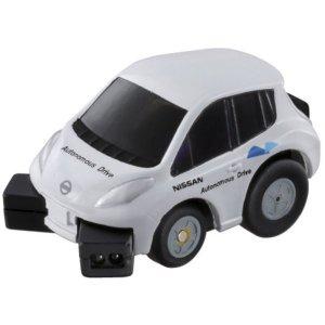 チョロQ Q-eyes QE-01 NISSAN LEAF 自動運転テストカー 日産 リーフ ミニカー 車 おもちゃ 車のおもちゃ 男の子 プレゼント 誕生日 プレゼント タカラトミー