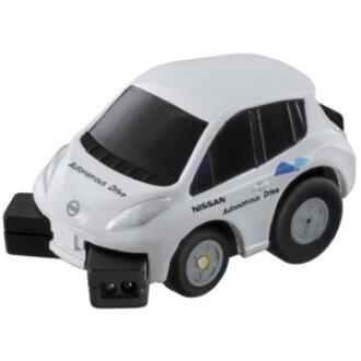 CHORO-Q Q-eyes QE-01 NISSAN LEAF test car car car toys car toys boys gifts birthday gifts