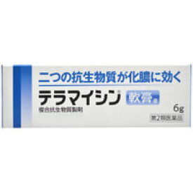 【第2類医薬品】【武田薬品工業】 テラマイシン軟膏a 6g