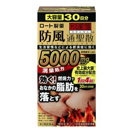 第2類医薬品 新・ロート 防風通聖散錠満量 360錠