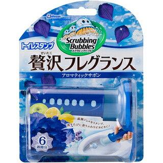 【ジョンソン株式会社】スクラビングバブル トイレスタンプ 贅沢フレグランス アロマティックサボンの香り 本体 38gお取り寄せ商品のため入荷に10日ほどかかる場合があります。