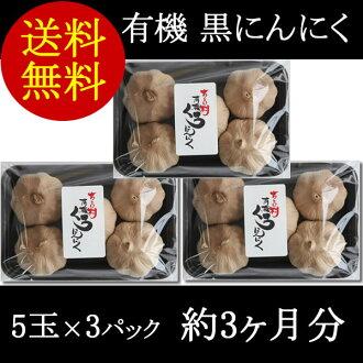 Sachiko baby-sitter organic black garlic 5 balls x 3 packs