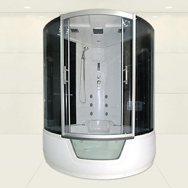 ■2年保証!無料電話サポート!ショールーム商品展示 機能充実 ホテル/別荘/ログハウス/家庭用浴槽、バスタブ付きシャワーブース、シャワールーム、シャワーユニット1301-S■