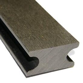 庭 縁台 ベランダ テラス 造りに最適のウッドデッキ床板の取付用【根太・45x25x2000mm・グレー色】高品質の根太材 床板の簡単な設置