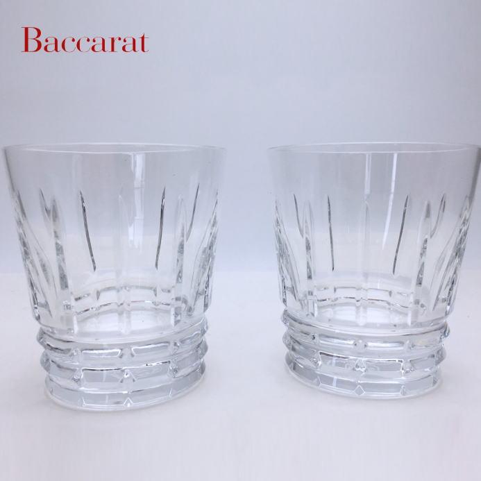 記念品 退職祝い 引越し祝い 名入れギフト 名入れ無料 Baccarat バカラ アルルカン オールドファッション ペアグラス ロックグラス 2810594<送料無料> ロックグラス 内祝い 父の日