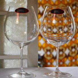 リーデル ワイングラス 名入れ RIEDEL ヴィノム ブルゴーニュ グラス ペアグラス 結婚祝い ギフト 贈り物 名前入り 結婚記念日 ペア ネーム入り 誕生日プレゼント 誕生日 友人 おしゃれ 新婚 両親 ペアギフト 金婚式 銀婚式 カップル 結婚