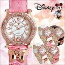 ディズニー 腕時計 レディース レディーズ スワロフスキークリスタル 使用 Disney ミニー リボンチャーム MINNIE MOUSE ミッキー うで時計 ...