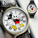 ディズニー 腕時計 本革 スワロフスキー 腕時計 ヴィンテージ ユニセックス メンズ レディース ボーイズ 本革 ミッキ…