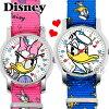 ディズニー腕時計NATOベルト式ドナルドダックグッズデイジーダックDisneyディズニー時計うで時計WATCHギフトドナルドダックぬいぐるみ