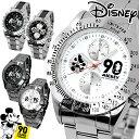 【送料無料】【あす楽】【1年保証有】ディズニー 腕時計 ミッキー 生誕90周年記念 キッズ レディーズ スケルトン 女の子 コラボ グッズ 限定 90周年 回転ベゼル クロノグラフ モデル DISNEY うで時計 時計 WATCH