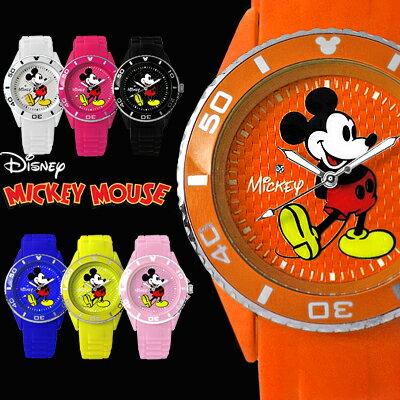 ディズニー 腕時計 ミッキー 腕時計 ミッキーマウス 時計 3D ミッキー シリコン 腕時計 全7色 Disney 回転ベゼル スワロフスキー ラバー メタリック文字盤 立体的 限定 ラバー ベルト 人気 口コミ