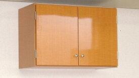 【完成品】鏡面扉 吊り戸棚幅60奥行L(30cm)タイプ洗面所収納 トイレ収納