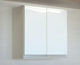 プレミアム吊戸棚 【縦型】 幅60L(奥行30)国産 完成品 送料無料洗面所収納 トイレ収納に