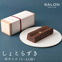 SALON GINZA SABOU しょこらずき(中サイズ・3〜4人前)ギフト/プレゼント/お土産/チョコレート/スイーツ/手土産/バレン…