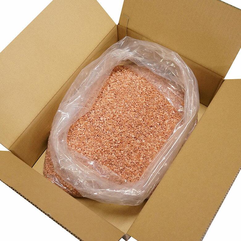 送料無料<ヒマラヤ岩塩 業務用 ピンクグレイン 5kg>着後レビューでクーポンプレゼント/天然無添加/パキスタン政府公認最高品質/美味しい/ソルティースマイル