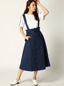 [Rakuten Fashion]【SALE/50%OFF】トレンチスカート Samantha Vega サマンサ ベガ スカート ロングスカート ブルー ベージュ ホワイト【RBA_E】【送料無料】