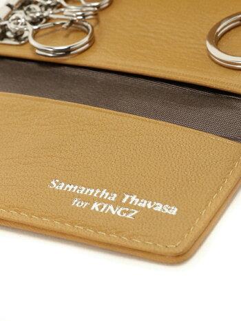 [Rakuten BRAND AVENUE]SAMANTHA KINGZ×Samantha Thavasaコラボキーケース (バイカラー ) KINGZ by Samantha Thavasa キングズバイサマンサタバサ ファッショングッズ【送料無料】