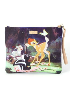 Samantha Thavasa Petit Choice DISNEY COTTON CLUTCH samanthatabasaptichoice