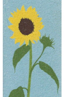 Beauty grip leather sunflower ◆