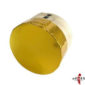 金的 三寸 木製枠 金紙付き弓道 I-007