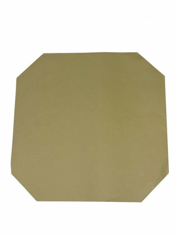 下貼り紙 尺二寸用 茶紙 10枚セット弓道 弓具 弓道用品 的紙  【ラッキーシール対応】
