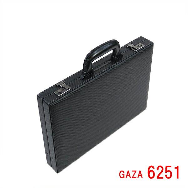 ガザ [GAZA] 合成皮革製 アタッシュケース 6251 【薄マチ】