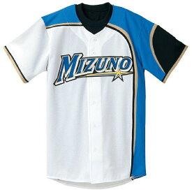 ミズノ MIZUNO プロコレクション HNF Hシャツ(2011年北海道日本ハムファイターズ型/オープンタイプ/メッシュ)(ホーム)野球 52MW08101(1602ay)【取り寄せ商品】