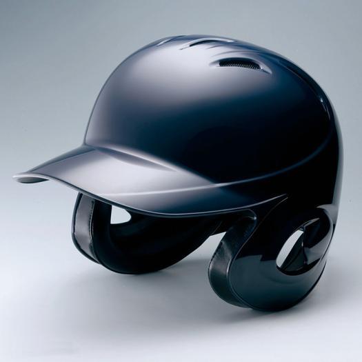 【最大2,000円クーポン配布中】【MIZUNO】ミズノ ヘルメット 軟式用ヘルメット(両耳付打者用/野球) ネイビー 紺 ヘルメット 野球 防具 SGマーク 《1DJHR10114》【取り寄せ商品】(1706c)