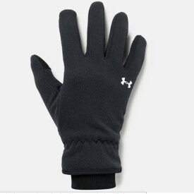 アンダーアーマー UNDER ARMOUR 1318469_001 UAストーム フリース グローブ(トレーニング/WOMEN)レディース 手袋 UA Storm Fleece Glove【取り寄せ商品】【001】BLK/BLK/WHT 再(2002)