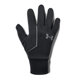 【メール便送料無料】アンダーアーマー UNDER ARMOUR 1318571_001 UAストーム ラン ライナー グローブ(ランニング/グローブ/MEN)メンズ 手袋 UA Mens CGI Run Liner Glove【取り寄せ商品】【001】BLK/BLK/SIL 再(1912)